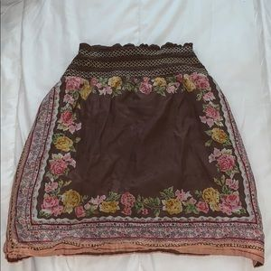 Charlotte Russe Patterned Skirt